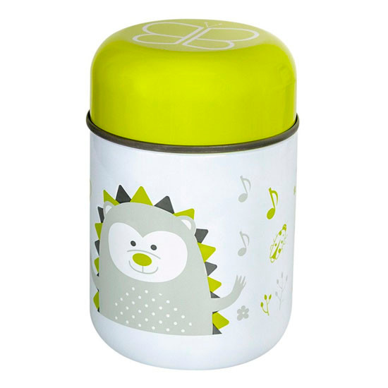 BBLuv Food Thermal Food Container with Spoon 10oz - Lime_thumb3