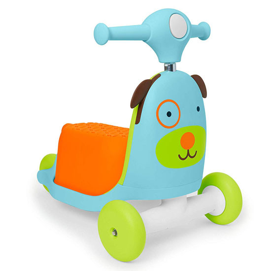Skip Hop Kids 3-in-1 Ride On Scooter and Wagon Toy - Dog_thumb1