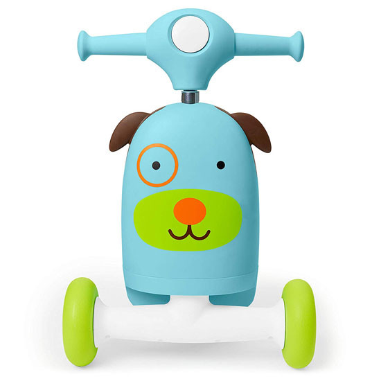 Skip Hop Kids 3-in-1 Ride On Scooter and Wagon Toy - Dog_thumb3
