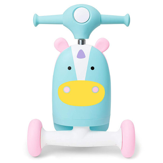 Skip Hop Kids 3-in-1 Ride On Scooter and Wagon Toy - Unicorn_thumb7