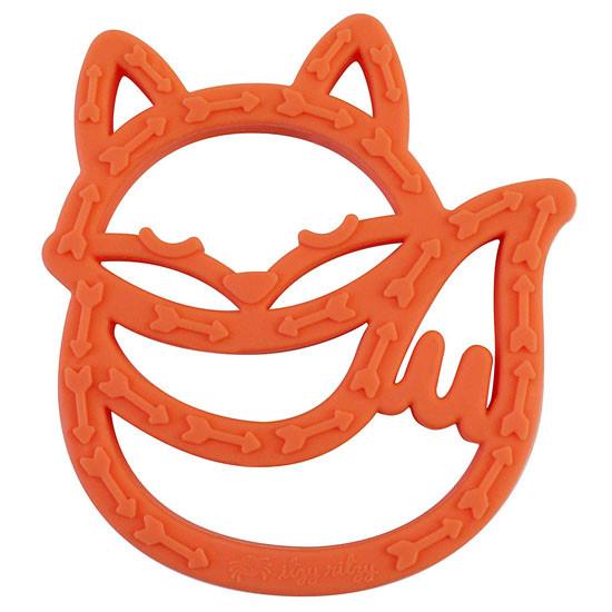 Itzy Ritzy Silicone Baby Teether - Fox_thumb1_thumb2