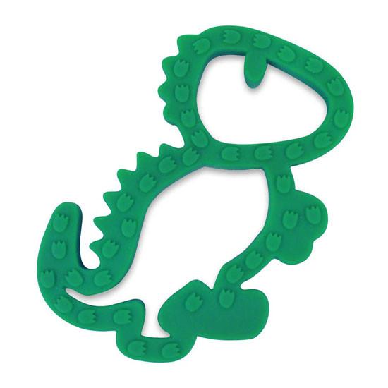 Itzy Ritzy Silicone Baby Teether - Dinosaur_thumb1_thumb2