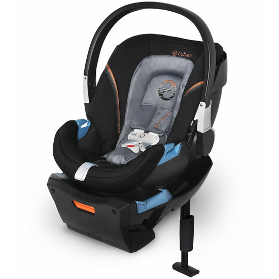 CYBEX Aton 2 Infant Car Seat with SensorSafe - Pepper Black_thumb1