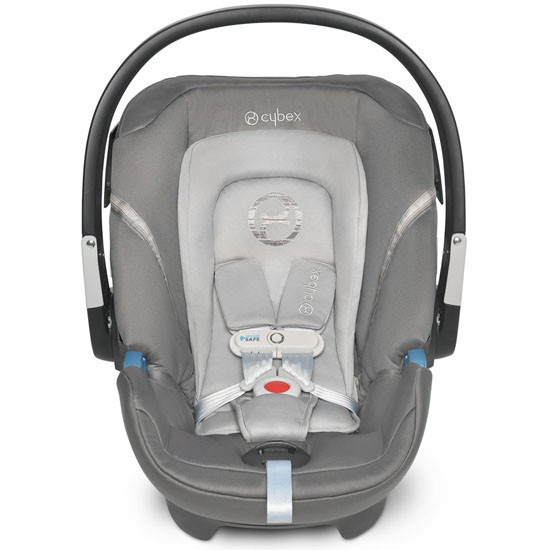 CYBEX Aton 2 Infant Car Seat with SensorSafe - Pepper Black_thumb3