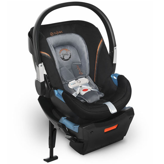 CYBEX Aton 2 Infant Car Seat with SensorSafe - Pepper Black_thumb1_thumb2