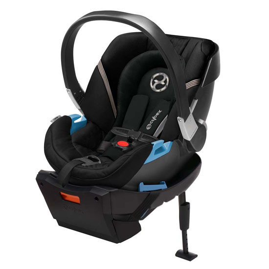 CYBEX Aton 2 Infant Car Seat with SensorSafe Lavastone