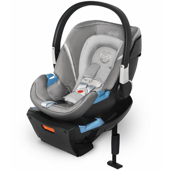 CYBEX Aton 2 Infant Car Seat with SensorSafe in Grey