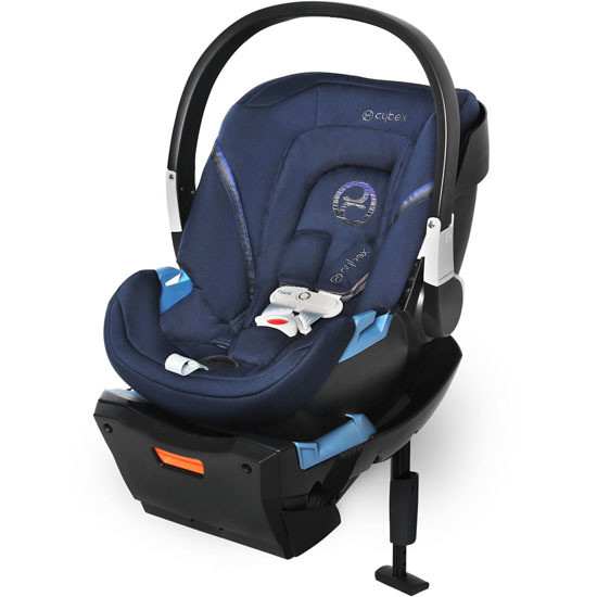 CYBEX Aton 2 Infant Car Seat with SensorSafe in Blue