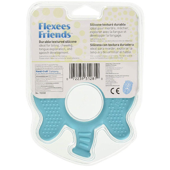 Dr. Brown Flexee Friends Silicone Teether - Elephant_thumb1_thumb2