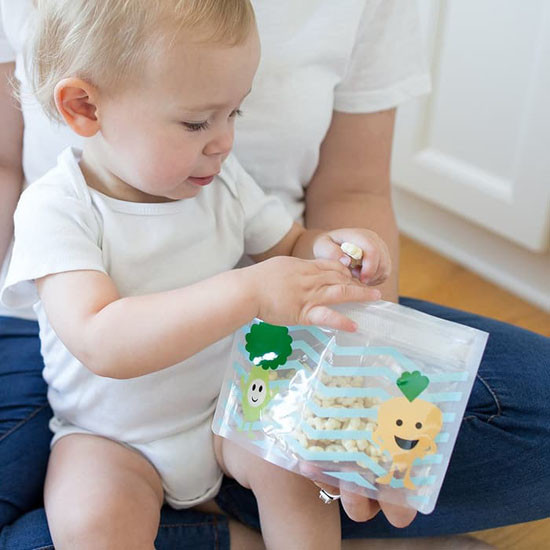 Dr Brown???º???s Reusable Snack Bags Tummy Grumble - 3 Pack_thumb1_thumb2