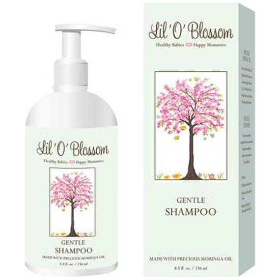 Lil O Blossom Gentle Shampoo - 8 oz_thumb1