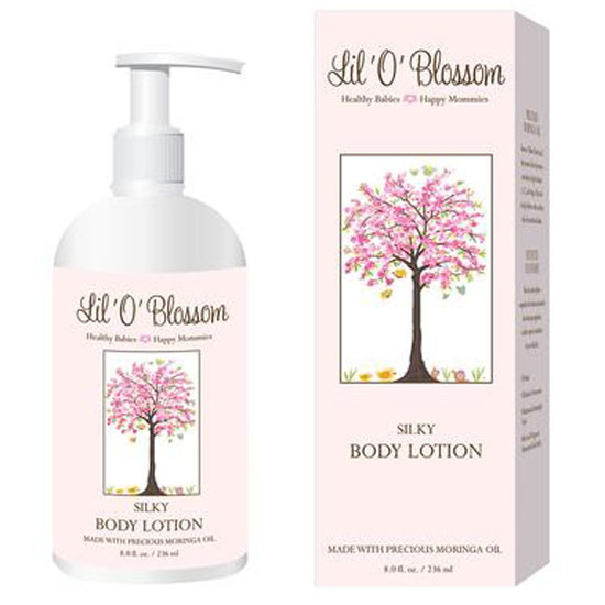 Lil O Blossom Silky Body Lotion - 8 oz Product