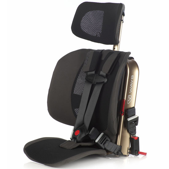 WAYB Pico Traveling Booster Seat - Earth_thumb1