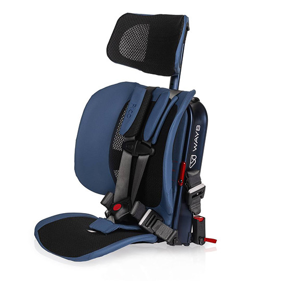 WAYB Pico Traveling Booster Seat Midnight Blue