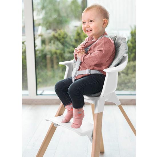 STOKKE Clikk High Chair Cushion  - Grey Sprinkles_thumb1_thumb2