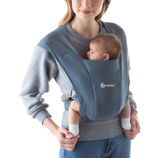 Ergo Baby Embrace Baby Carrier - Oxford Blue_thumb1_thumb2
