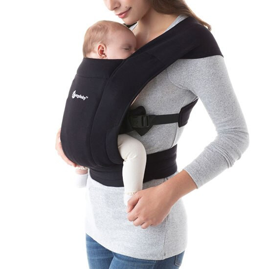 Ergo Baby Embrace Baby Carrier - Black