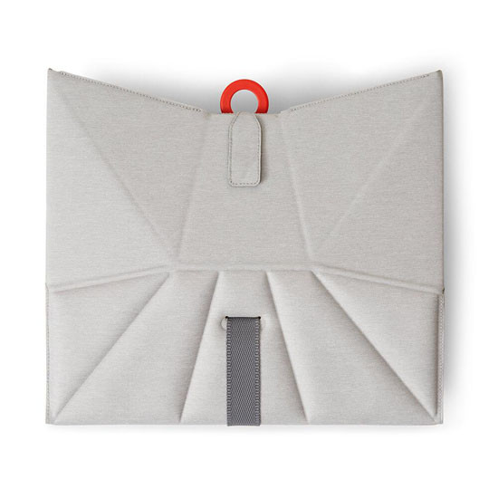 Bombol Pop-Up Booster with Carry Bag and Seat Cover - Pebble Grey_thumb7