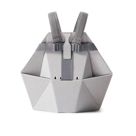 Bombol Pop-Up Booster with Carry Bag and Seat Cover - Pebble Grey_thumb5