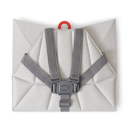 Bombol Pop-Up Booster with Carry Bag and Seat Cover - Pebble Grey_thumb8