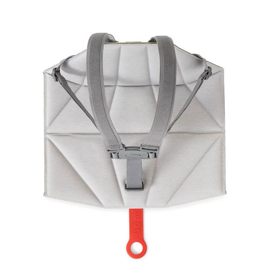 Bombol Pop-Up Booster with Carry Bag and Seat Cover - Pebble Grey_thumb_9