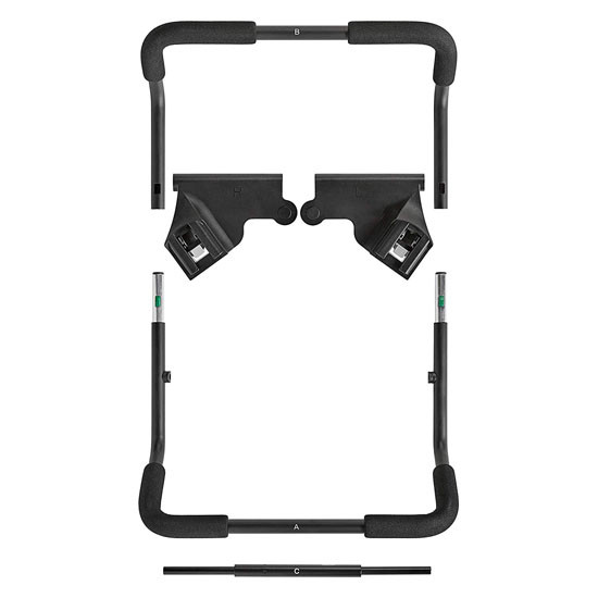 Baby Jogger 2019 City Mini GT2????íCar Seat Adapter - Chicco/Peg Perego_thumb1