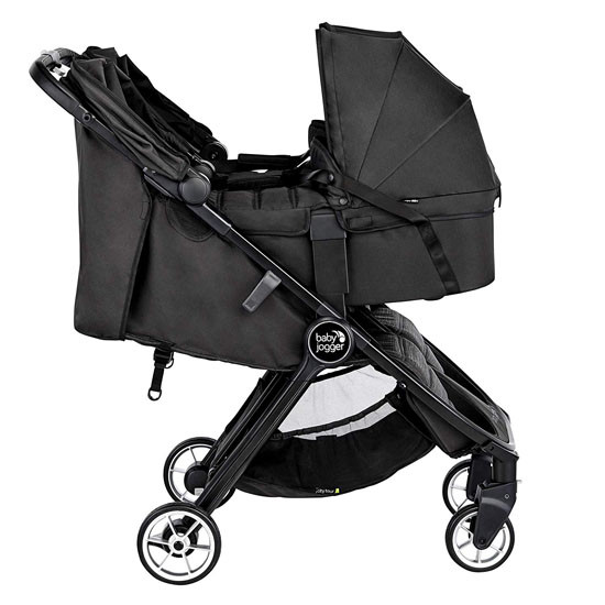 Baby Jogger 2019 City Tour Double Stroller Carry Cot - Jet_thumb5