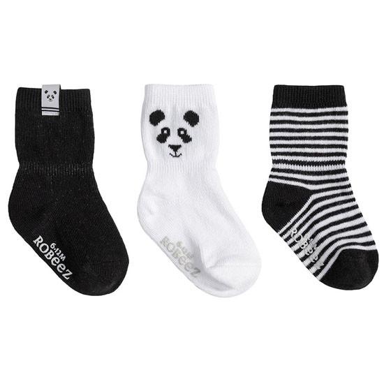 Robeez Piper Panda Socks - 3 Pack_thumb1