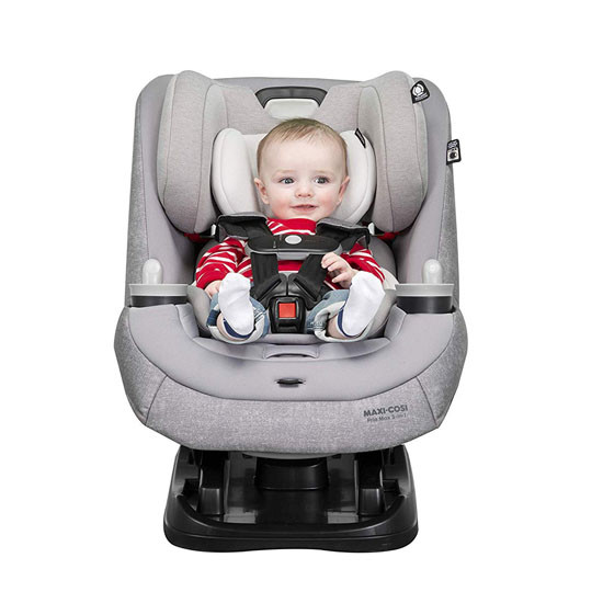 Maxi-Cosi Pria Max 3-in-1 Convertible Car Seat - Nomad Blue_thumb_9