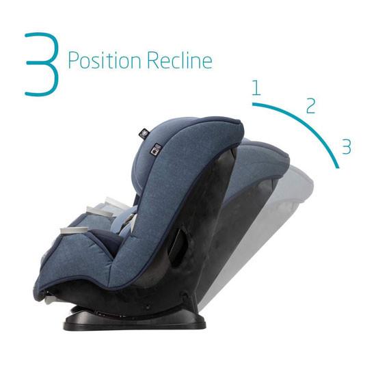 Maxi-Cosi Pria Max 3-in-1 Convertible Car Seat - Nomad Blue_thumb4