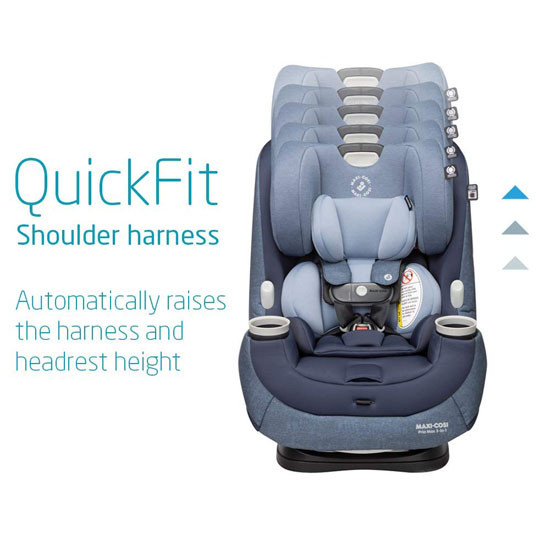 Maxi-Cosi Pria Max 3-in-1 Convertible Car Seat - Nomad Blue_thumb6