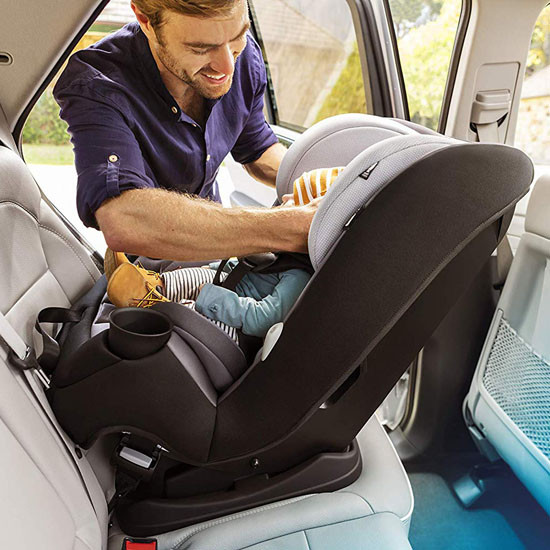 Maxi-Cosi Pria Max 3-in-1 Convertible Car Seat - Nomad Blue_thumb_11