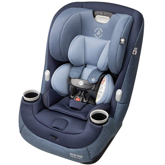 Maxi-Cosi Pria Max 3-in-1 Convertible Car Seat - Nomad Blue_thumb1_thumb2