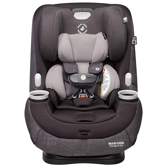 Maxi-Cosi Pria Max 3-in-1 Convertible Car Seat - Nomad Black