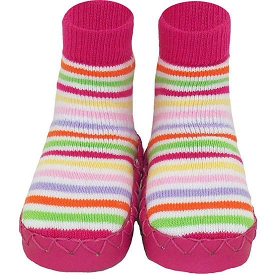 Konfetti Moccasin - Pink Stripes Product