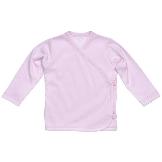 Under The Nile L/S Side Snap T-Shirt - Pink Product