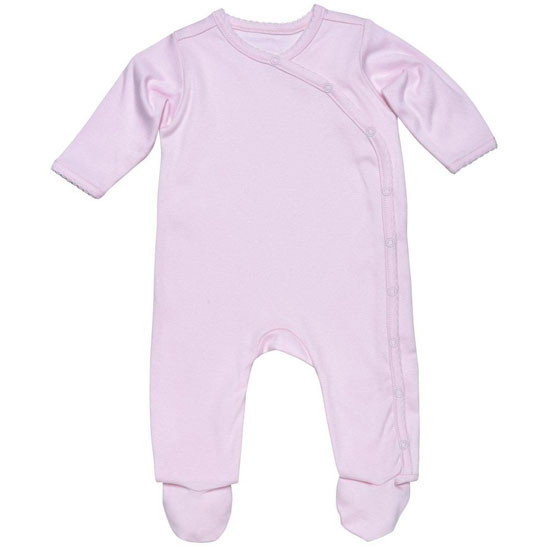 Under The Nile Organic Cotton Footie - Pink Product