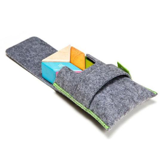 Tegu 6 Piece Pocket Pouch Prism Magnetic Wooden Block Set - Tints_thumb1_thumb2