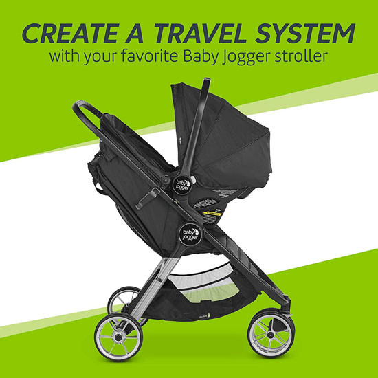 Baby Jogger City GO 2 Infant Car Seat - Slate_thumb4