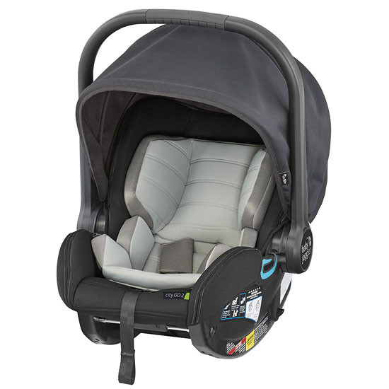 Baby Jogger City GO 2 Infant Car Seat - Slate_thumb1