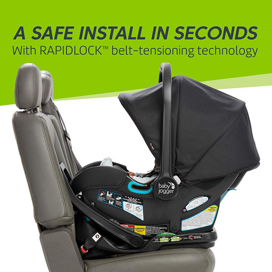 Baby Jogger City GO 2 Infant Car Seat - Slate_thumb5