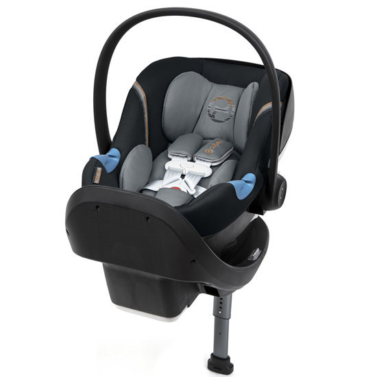 CYBEX Aton M Infant Car Seat with SensorSafe Pepper Black