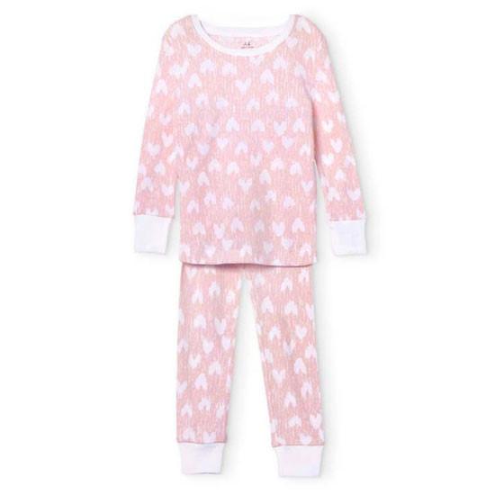 Aden + Anais 2 Piece Cotton Pajamas - Hearts_thumb1