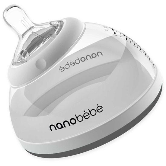 Nanobebe Transition Bottle - Grey - 8 oz_thumb1