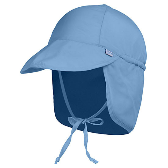 i play. Flap Sun Protection Hat - Light Blue_thumb1