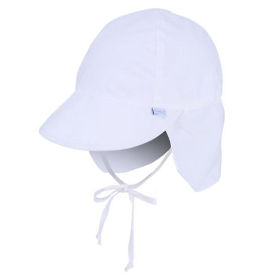 i play. Flap Sun Protection Hat - White_thumb1