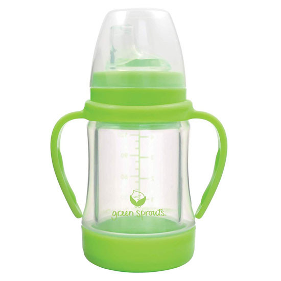 i play. Green Sprouts Glass Sip & Straw Cup - Green_thumb1