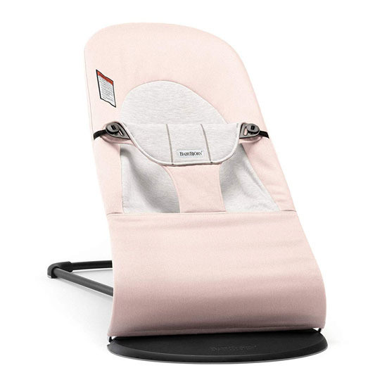 Baby Bjorn Bouncer Balance Cotton Jersey Light Pink