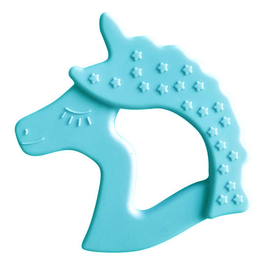 Little Teether Unicorn - Cyan_thumb1