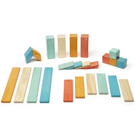 Tegu 24-Pieces  Block Set - Sunset_thumb1